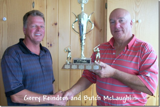 Gerry Reinders Butch McLaughlin 082111