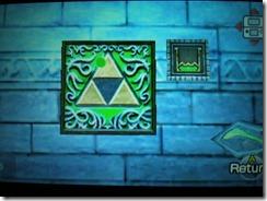 Toque a Zelda's Lullaby para abaixar a água