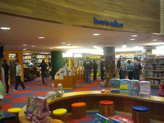 Livraria Cultura em Curitiba - Foto via @ShoppingCtba