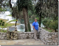 Gin at the Headsprings Park of Rainbow Springs