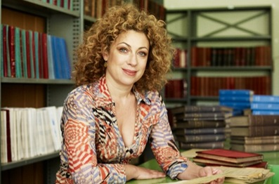 Alex Kingston explores her roots in the hit BBC One series...