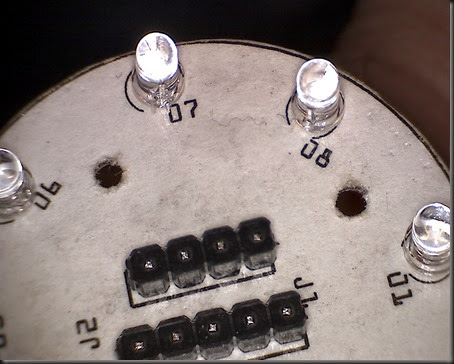 Round LED board