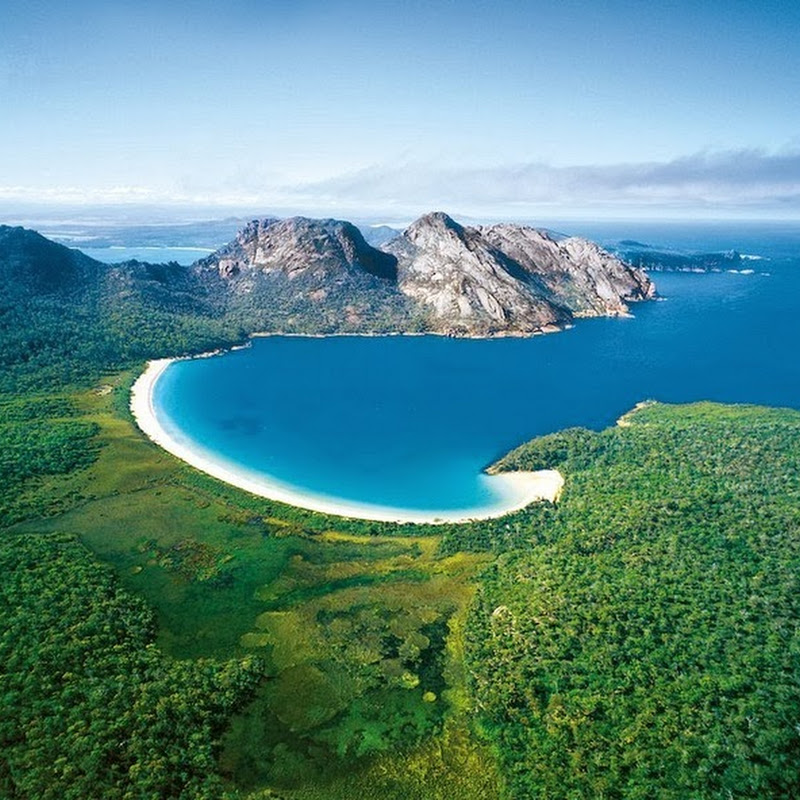 Wineglass Bay in Australia
