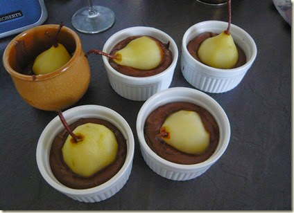 pear and chocolate pudding2
