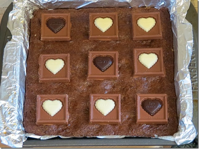 Ghirardelli Chocolate Valentine's Impressions Brownies 4