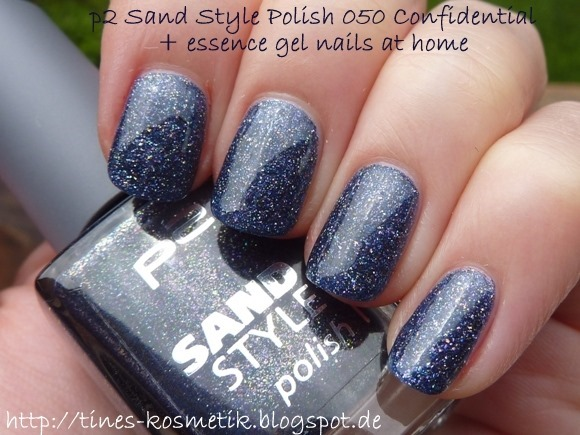p2 Sand Style Polish Confidential mit Gel 1