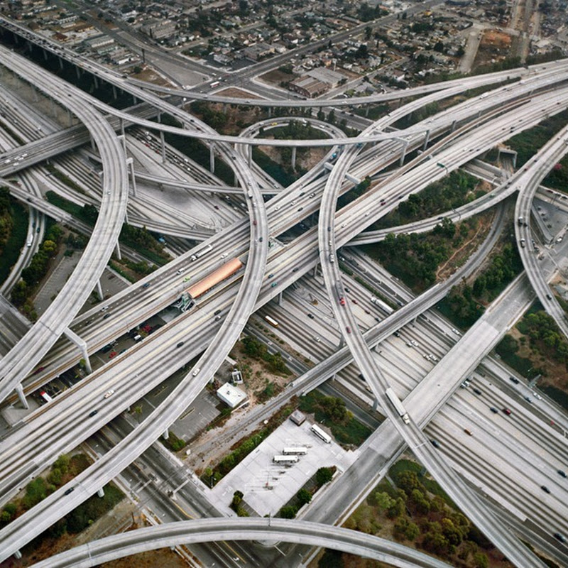 Edward Burtynsky's Photos of Industrial Landscapes