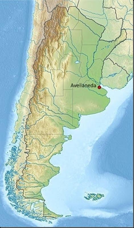 Avellaneda_Map_of_Argentina