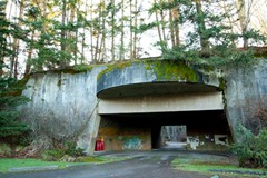 World War 2 Bunker, Salt Creek Recreational Area, Port Angeles, WA USA