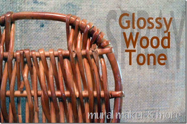 Glossy Wood Tone Spray