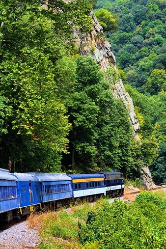 Potomac Eagle train17