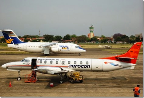 Aeronaves en Bolivia