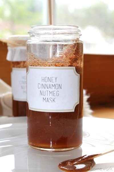 Honey Facial Mask via homework (9)
