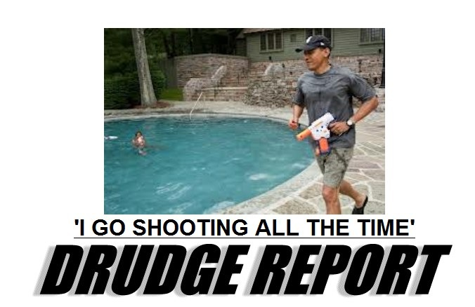 Obama the great shooter