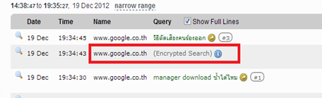 Encrypted search  คือ
