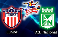 Atlético Junior vs Atlético Nacional