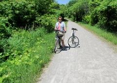 1306294 Jun 20 Barb Out On Bike Path