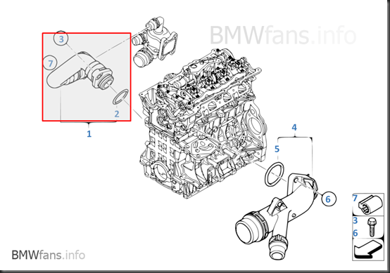 My Car My Life: BMW E90 N46B20 Water Pump / Thermostat