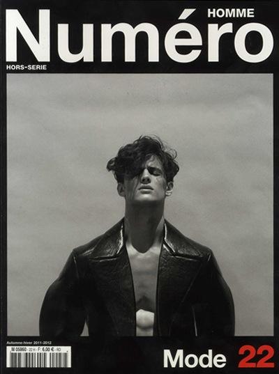 Garrett Neff @ Wilhelmina by Sean + Seng, Numéro Homme No. 22 (A/H 2011-12), Styled by Franck Benhamou