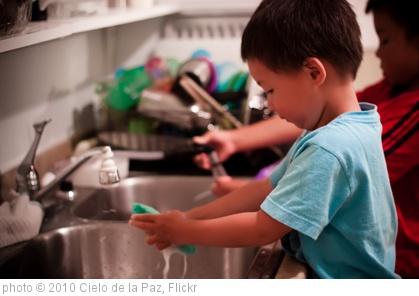 Children Doing Chores?