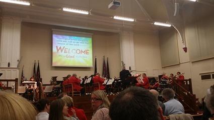 Christmas Carol Concert at The Citadel 2014