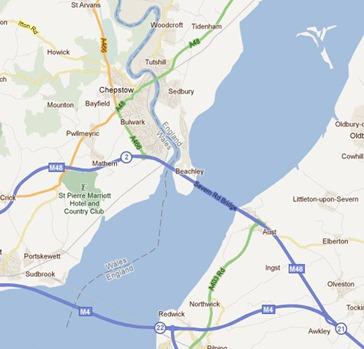 Sedbury on River Severn