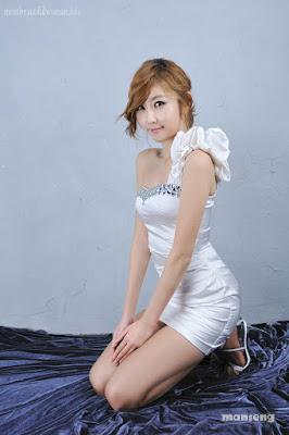choi byeol yee   white mini dress koleksi video bokep