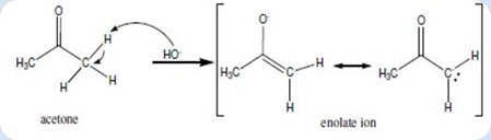 clip_image006. Diagram 1. The acetaldehyde enolate ion ...