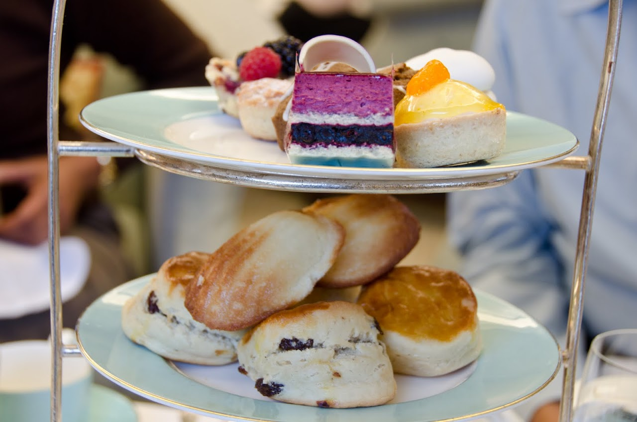 High Tea at Fortnum & Masons