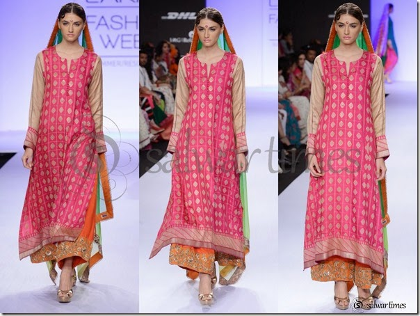 Gaurang_Shah_Pink_Full_Sleeves_Kameez