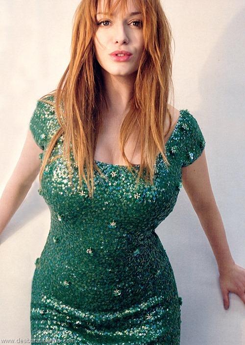 Christina Hendricks linda sensual sexy sedutora decote peito desbaratinando (70)