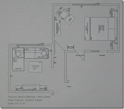 Master  Bonus Room Floor Plan
