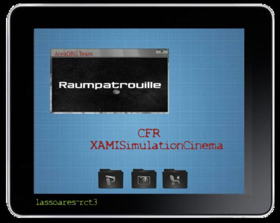 XAMISimulationCinema I (Raumpatrouille Orion, AreaORG) lassoares-rct3