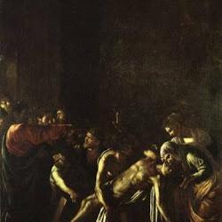 59 - Caravaggio - Resurrección del cuerpo de Lázaro