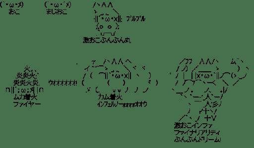 激おこプンプン丸 6段活用