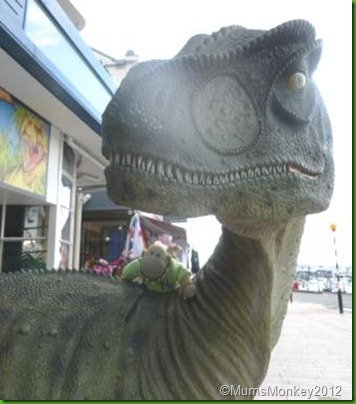 Dinosuar World in Torquay