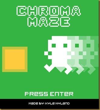 Chroma Mazeタイトル