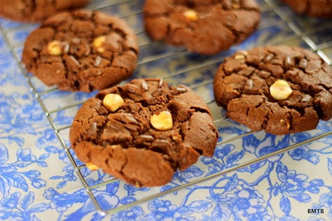 Choc Hazelnut Cookies 2