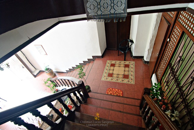 The Goco Ancestral House Stairwell