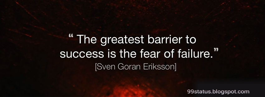 Facebook cover success quotes