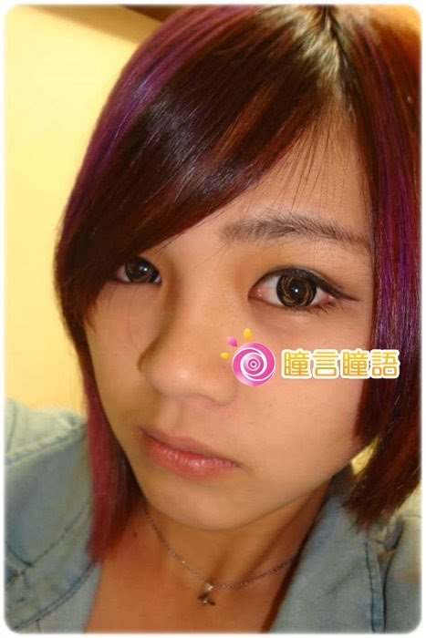 日本EOS隱形眼鏡-Barbie Doll芭比娃娃咖15