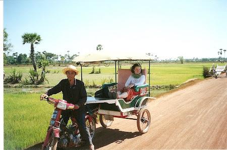 Angkor Wat: around rural Cambogia
