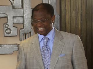 – Alexis Thambwe Mwamba ministre congolais des affaires étrangères de la RDC. Radio Okapi/ Ph. John Bompengo
