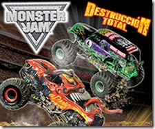 boletos para Monster Jam Destruccion Total ACMX