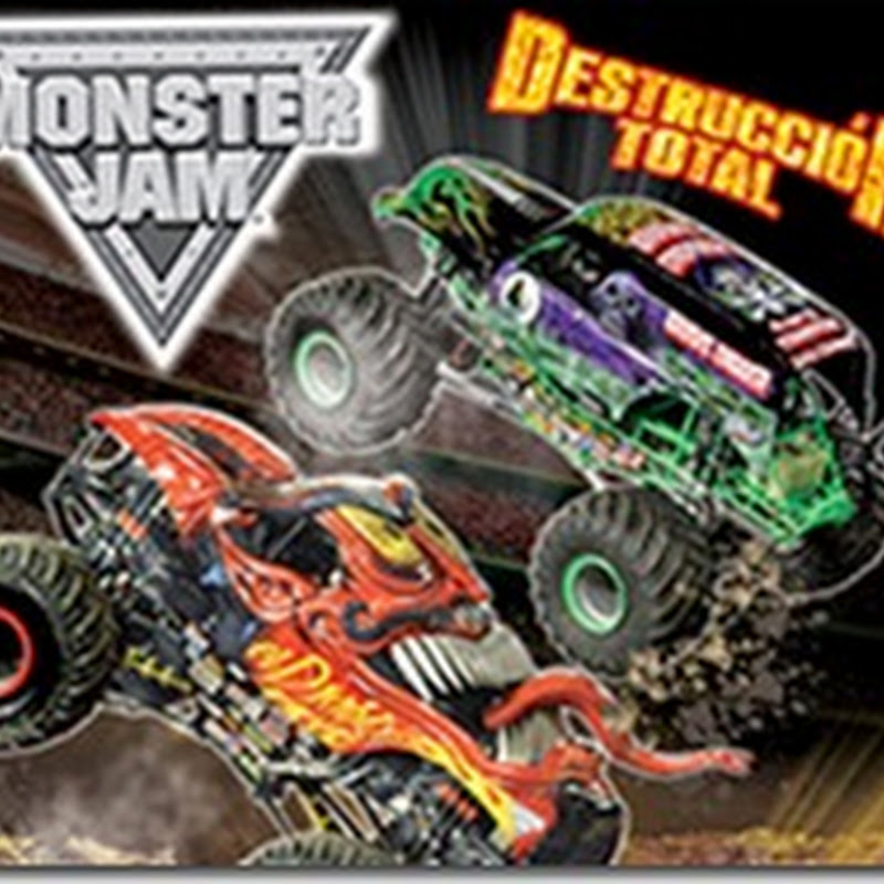 MONSTER JAM en Mexico 2014