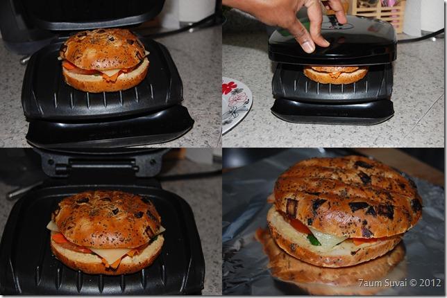 Sandwich grilling