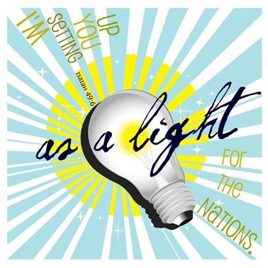 as a light