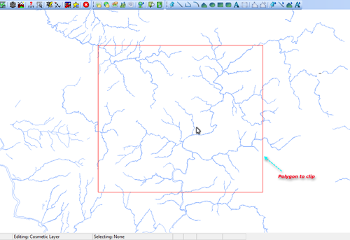 How to clip table using polygon on mapinfo free gis tutorial clip to polygon gumiabroncs Images