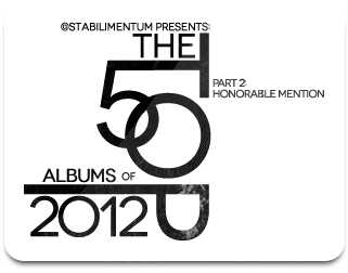 The Top 50 Albums of 2012, Part 2