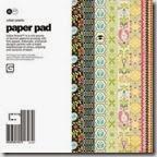 basic grey urban prairie 6x6 paper pad